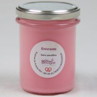 Bougie rose épicée