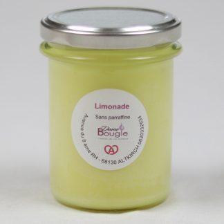 Bougie citron limonade