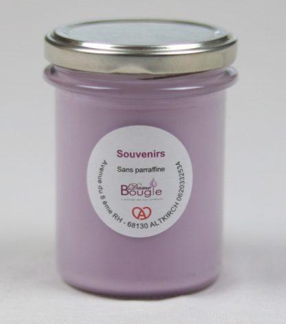 Bougie senteur violette
